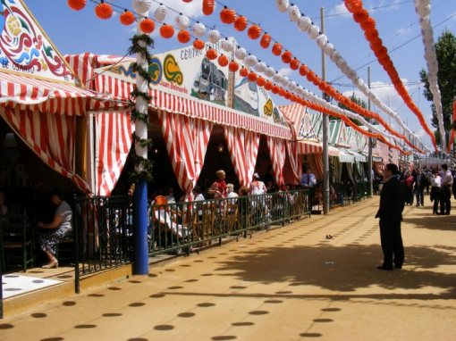 Casetas de la Feria